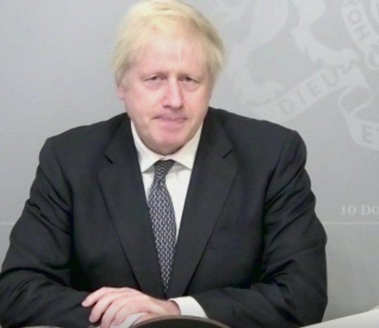 Boris Johnson announces the £16.5bn MOD spending increase